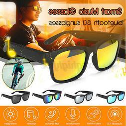 Polarized Smart bluetooth Sunglasses Glasses Earphones Heads