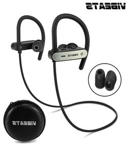 VIBEATS Bluetooth Wireless Headphones Sport Running Earphone
