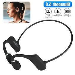 Bluetooth5.0 Bone Conduction Headset Outdoor Sport Wireless