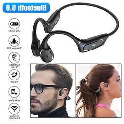 Bone Conduction Headset Wireless Bluetooth 5.0 Open Ear Outd