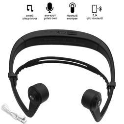 Bone Conduction Open-Ear Wearing Bluetooth Wireless Headphon