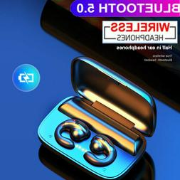 Bone Conduction True headphones Bluetooth 5.0 Wireless Heads