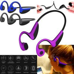 Bone Conduction Wireless Bluetooth Headphones V5.0 Headsets