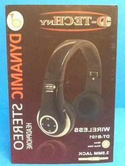 D-Tech NY Wireless Bluetooth DYNAMIC Stereo Headphones