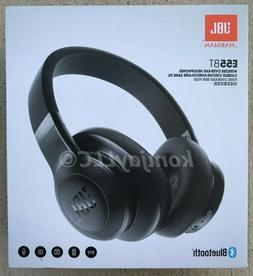 JBL E55BT Bluetooth Wireless Over-Ear Headphones Black Made