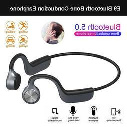 E9 Bluetooth Bone Conduction Earphone Wireless Waterproof Ha