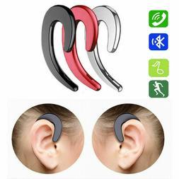 Ear Bluetooth Bone Conduction Headphones Stereo Wireless Ear