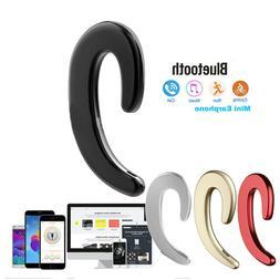 Ear Hook Bone Conduction Headphone Wireless Bluetooth Earpho