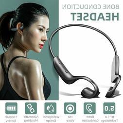 Ear-hook Bone Conduction Headset Wireless Bluetooth 5.0 Earp