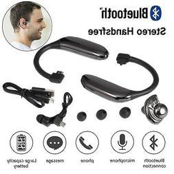 ear hook headphone wireless bluetooth earphone bone