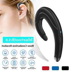 Ear Hook Headphone Wireless Bluetooth Earphone Bone Conducti