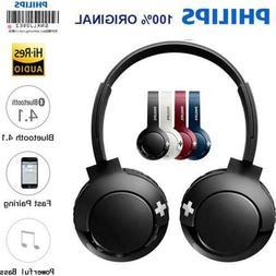 Philips Foldable Wireless Headphones SHB-3075 Bluetooth BASS