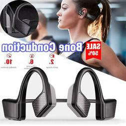 Headphone Bluetooth 5.0 Bone Conduction Stereo Headset Wirel