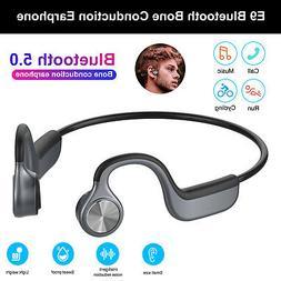 IPX4 Bluetooth 5.0 Bone Conduction Earphone Sports Handsfree