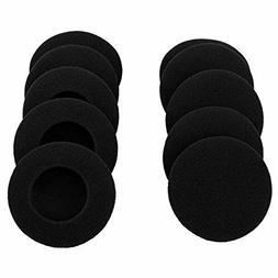 Ear Foam Sponge For Sennheiser Call Mic Headset 40mm 45m 50m