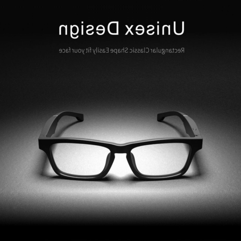 2019 new bluetooth wireless glasses bone conduction