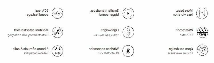 AfterShokz Conduction Bluetooth Headphones Grey