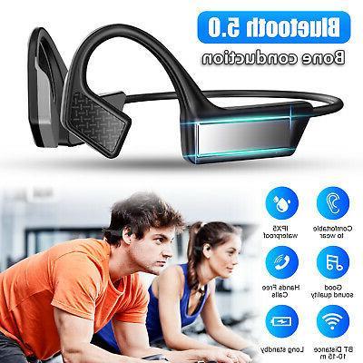 bone conduction earbud wireless headphone bluetooth5 0