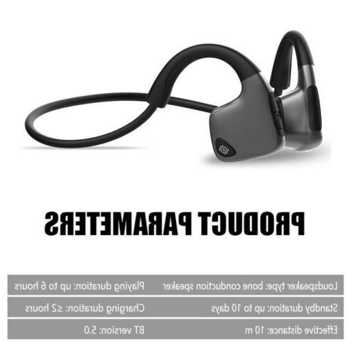 Bone Conduction Wireless Bluetooth Earphones Open-Ear Hot
