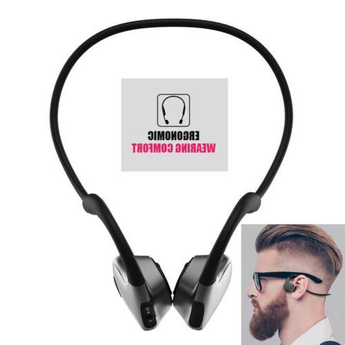 bone conduction wireless headphones bluetooth 5 0