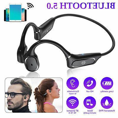 open ear ipx5 wireless bone conduction headphones