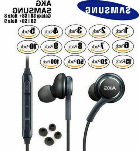 orginal genuine oem akg stereo headphones earphones