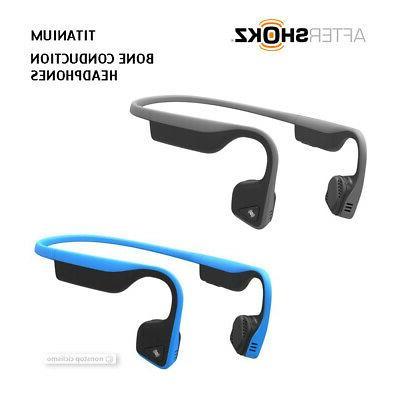 titanium as600 bone conduction bluetooth open ear