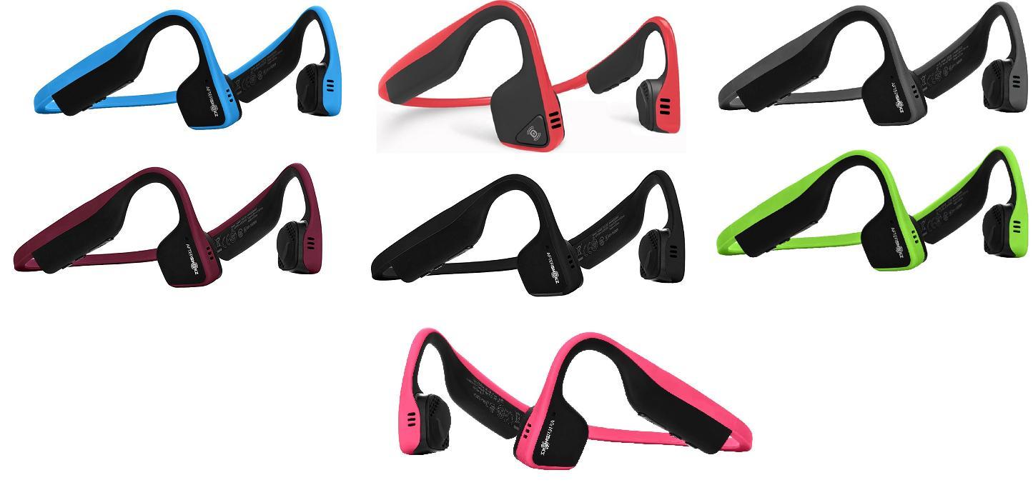 trekz titanium bone conduction wireless headphones new