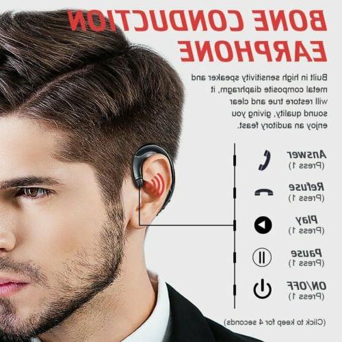 Mpow Wireless Bluetooth Earphones Conduction Headphones for