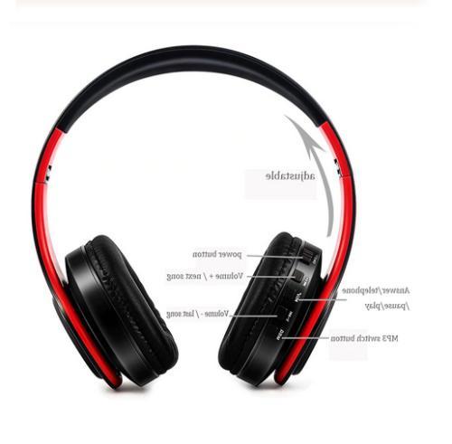 Wireless Headphones Super Bass Headsets