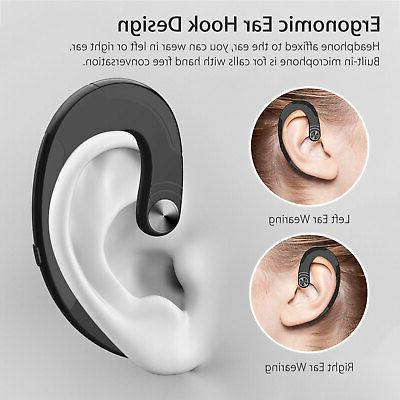 2x Wireless Conduction Headphone Fitness Earphone