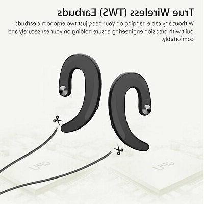 2x BT Bone Conduction Headphone Fitness Earphone