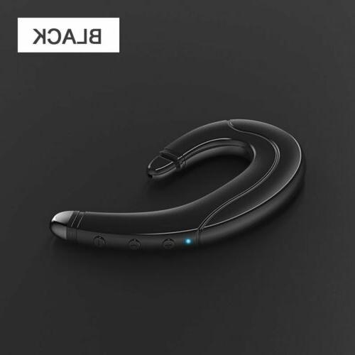 Wireless 5.0 Bone Conduction Earpices Stereo Headset