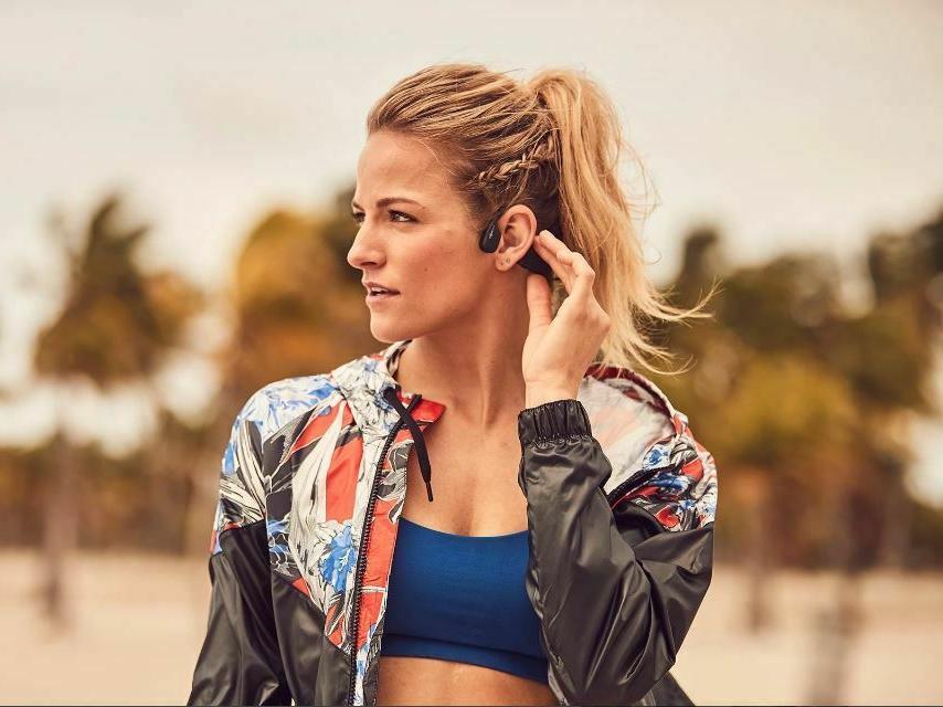 AfterShokz Bone Conduction Swim MP3 Headphones