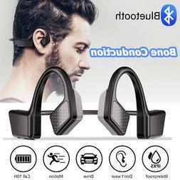 mini wireless bluetooth bone conduction headset stereo