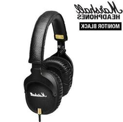 Marshall MONITOR Over-Ear Headphones w/ Microphone Black