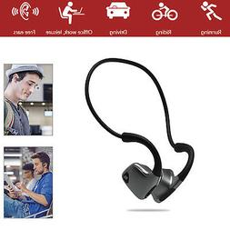 Open-Ear Wireless Bone Conduction Headphones Sport Headset S