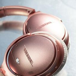 Pink Bose QuietComfort 35 II Wireless Bluetooth Headphones,