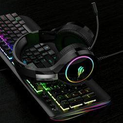 HAVIT RGB Wired Gaming Headset PC USB 3.5mm XBOX / PS4 Heads