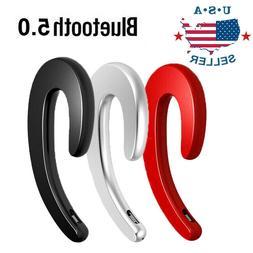 Wireless Bluetooth 5.0 Headset Bone Conduction Sport Headpho