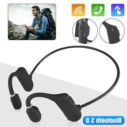 Wireless Bluetooth Bone Conduction Headphone Headset Sports