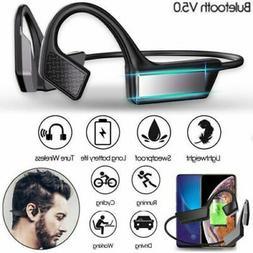 Wireless Bluetooth5.1 Bone Conduction Headset Stereo Headpho