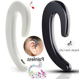 Wireless Bone Conduction Bluetooth Earphone Headset Business