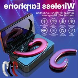 Wireless Bone Conduction Earphone Bluetooth 5.0 Headset Runn
