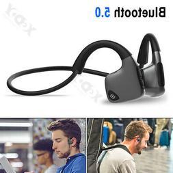 Wireless Headphones Bone Conduction Bluetooth 5.0 Headset Op