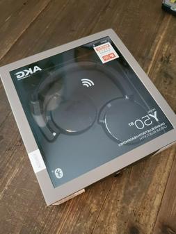 AKG Y50BT Black On the Ear Headphones